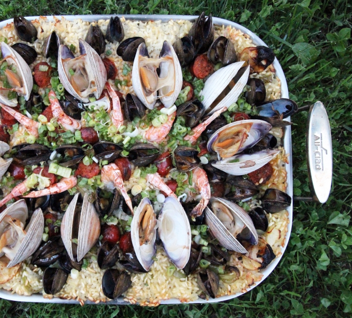 chesapeake bay paella