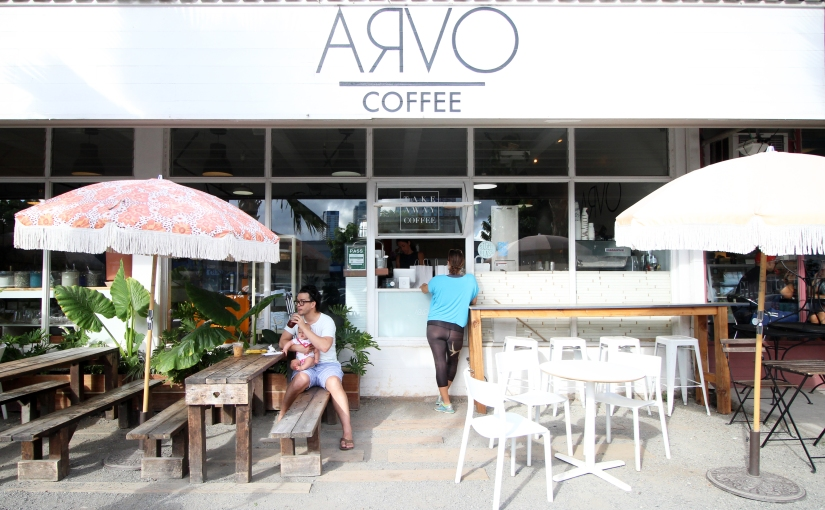 oahu's cutest coffee shop
