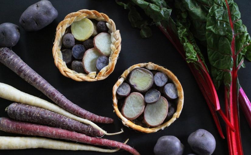 purple produce takeover + potato tartrecipe